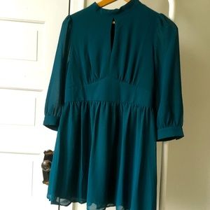 2for $30 Teal dress size Large forever 21